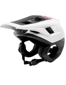 CASCO BICICLETA DROPFRAME BLANCO - FOX