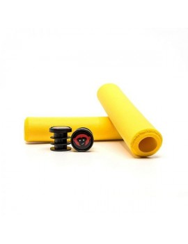 PUÑOS 6.5MM MTB GRIPS – YELLOW - RED MONKEY