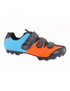ZAPATILLAS MTB MATRIX AZUL NARANJO - LUCK