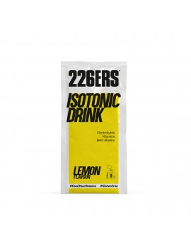 ISOTONIC DRINK LIMÓN MONODOSIS  - 20GR - 226ERS