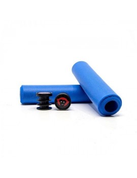 PUÑOS 6.5MM MTB GRIPS – BLUE - RED MONKEY