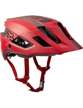 Casco Bicicleta Flux Rush Rojo Fox