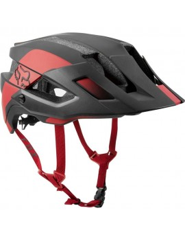 CASCO BICICLETA FLUX MIPS CONDUIT NEGRO/ROJO FOX