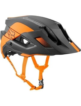 CASCO BICICLETA FLUX MIPS CONDUIT NARANJO FOX