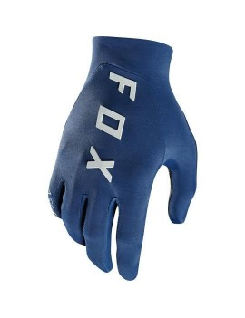GUANTES BICICLETA ASCENT AZÚL FOX