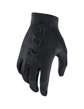 GUANTES BICICLETA ASCENT NEGRO FOX