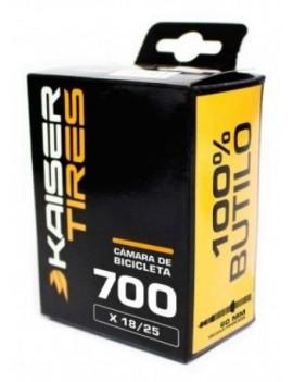CÁMARA RUTA - 700X18/25 - V/TUB 60MM - KAISER